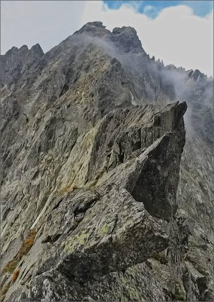 Dračí štít a Vysoká z Východného Rumanovho sedla