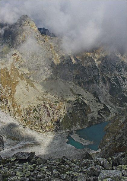 Ťažká dolina z Východného Rumanovho sedla