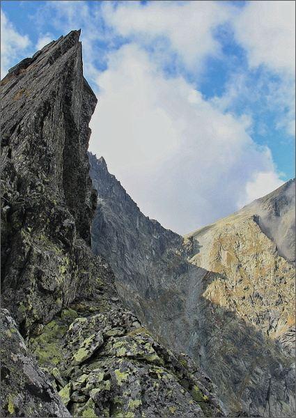Sedlo Váha z Východného Rumanovho sedla