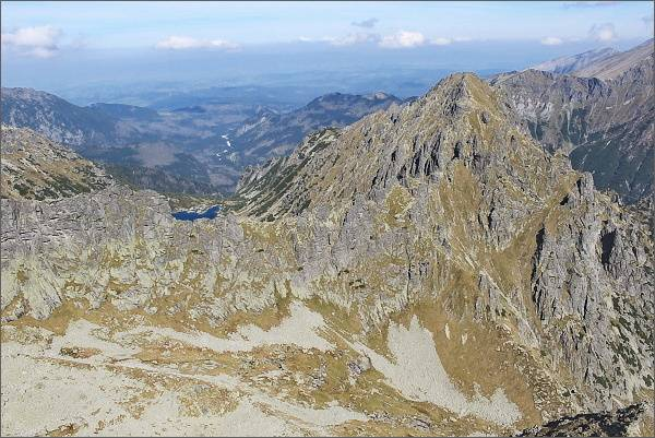 Žabia Bielovodská dolina a Mlynár z Ťažkej veže
