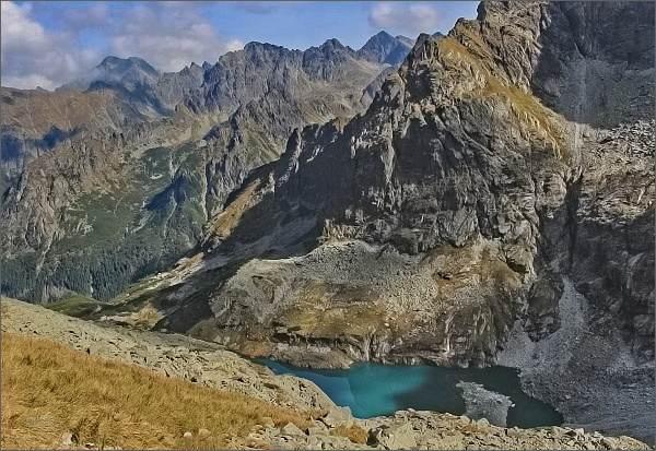 Cestou na Váhu, pohled do Ťažkej doliny
