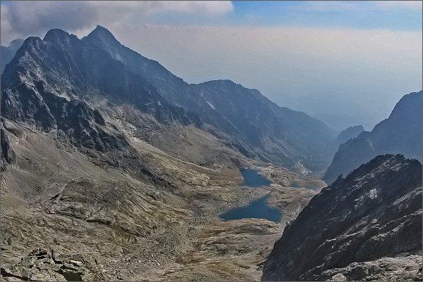 Malá Studená dolina z Ľadového štítu