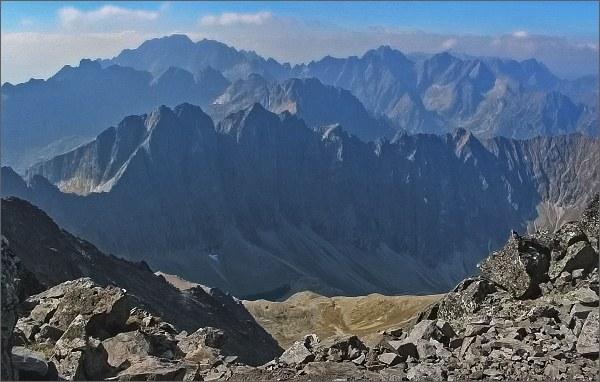 Javorová dolina z Ľadového štítu