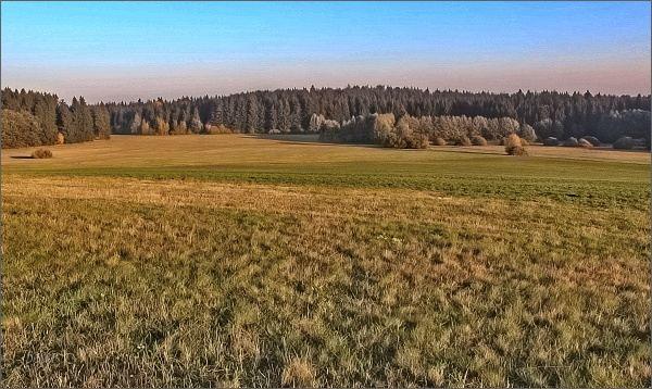 Ráno u Svratouchu