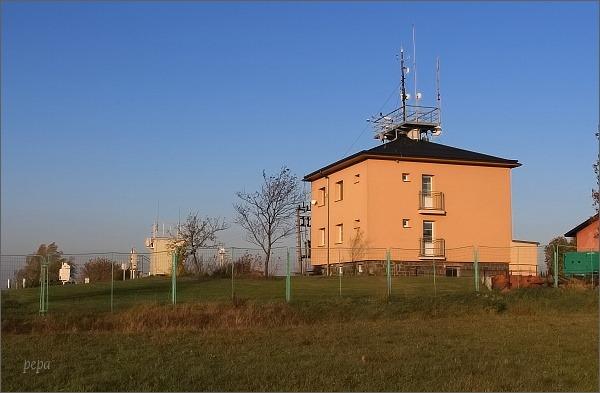 Svratouch. Meteorologická stanice na vrchu Otava