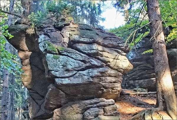 Přírodní památka Zkamenělý zámek