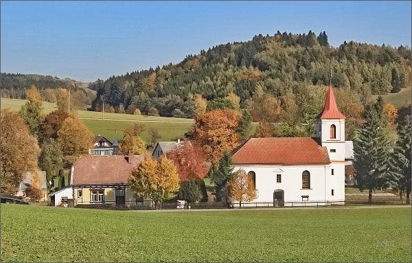 Pustá Rybná, evangelický kostel