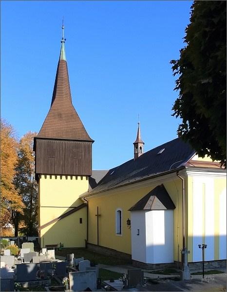 Borová, kostel sv. Markéty