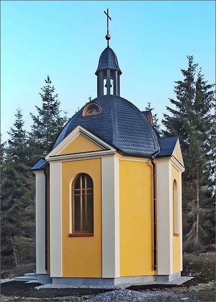 Nová kaple nad Horní Blatnou
