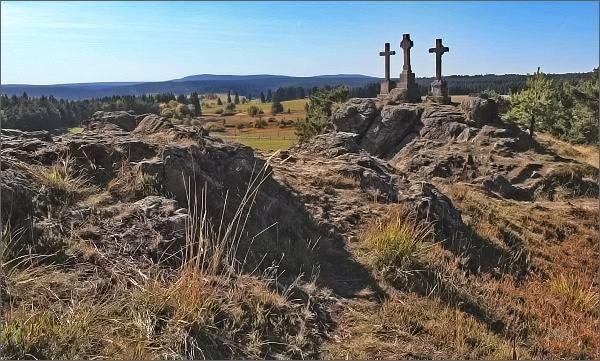 Slavkovský les: Z Hruškové na Kladskou