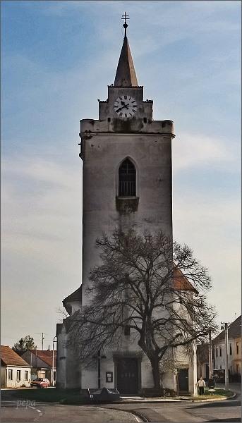 Dolní Věstonice, kostel sv. Michala