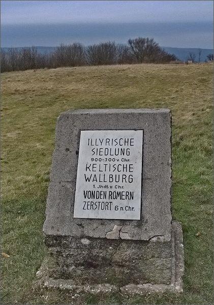 Braunsberg je dávné sídlo Keltů