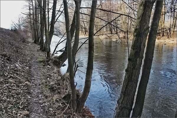 Stezka u řeky