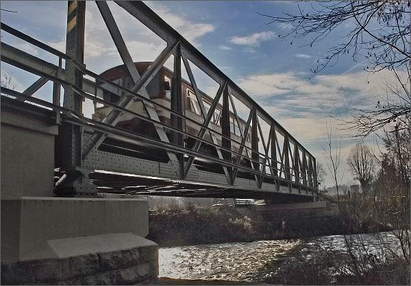 Borač, železniční most
