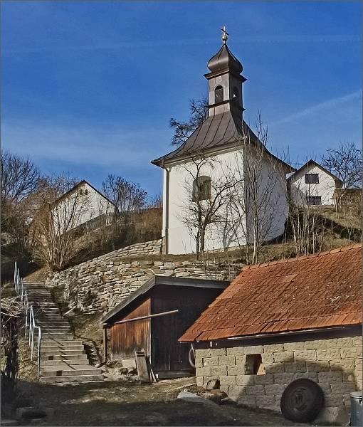 Koroužné. Kaple sv. Antonína Paduánského