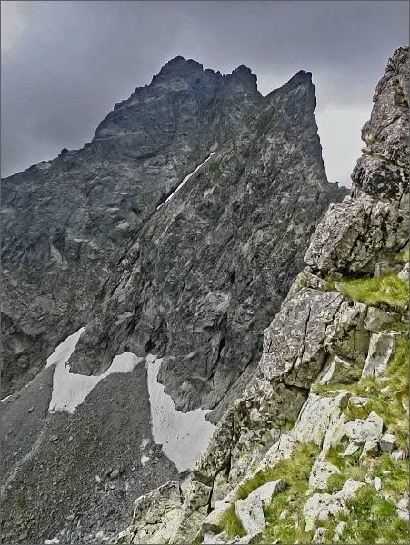 Predná a Zadná veža v Malých Rysoch, Malé Rysy z Vyšného Bielovodského sedla