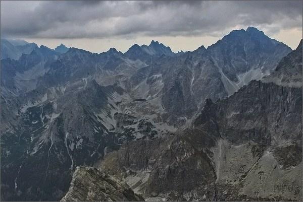 Bielovodská dolina z Malých Rysov