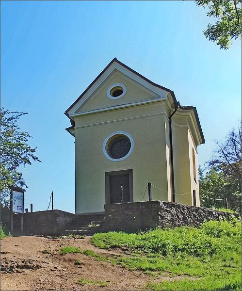 Svatý Jan pod Skalou. Kaple Povýšení sv. Kříže