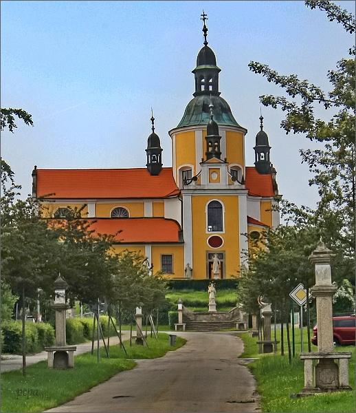 Chlum u Třeboně, kostel Nanebevzetí Panny Marie