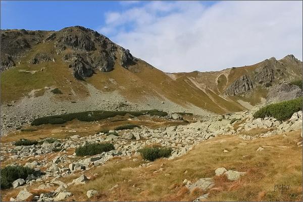 Hladký vrch a Hladké sedlo
