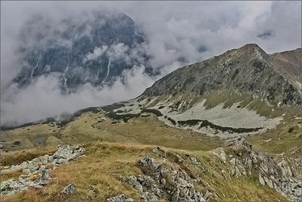 Tichý vrch a Kobylia dolinka z Hladkého štítu