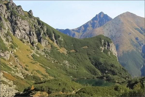 Široká (uprostřed) z Ťažkej doliny