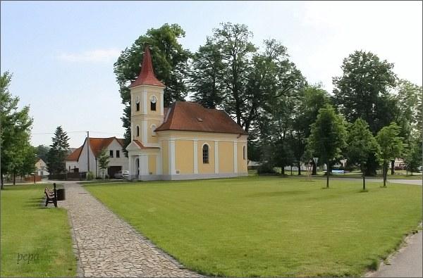 Lužnice. Kaple sv. Jana Nepomuckého