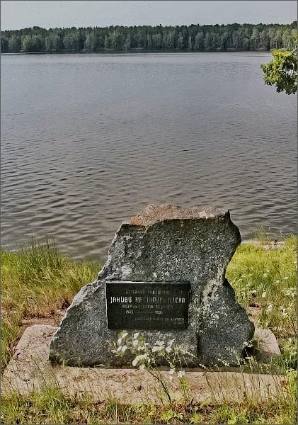 Krčínův pomník u stejnojmenného rybníka