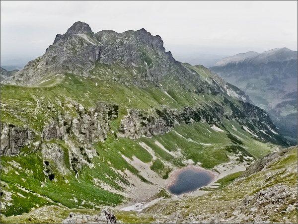 Široká ze Žabieho vrchu Javorového, Zelené pleso Javorové