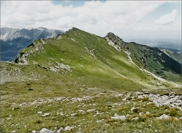 Zámky a Horvátov vrch ze Širokej