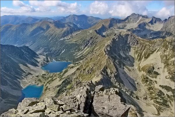 Temnosmrečinská dolina z Čubriny