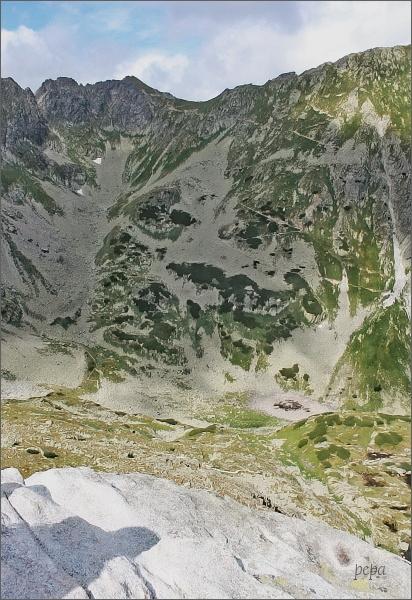 Szpiglasowy Wierch a sedlo Szpiglasowa Przełęcz z Mnicha