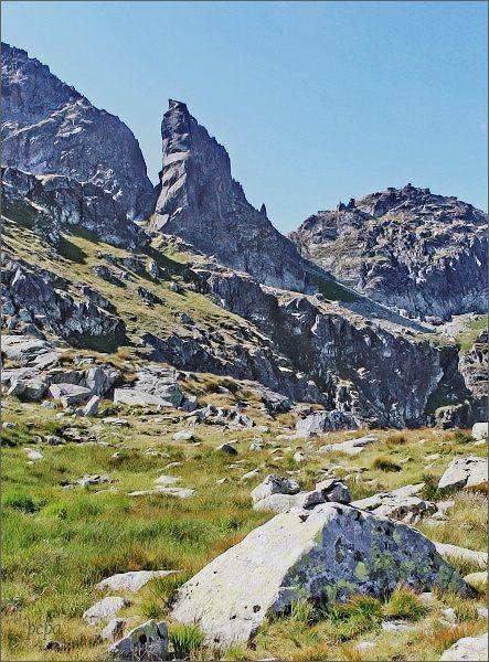 Dolina za Mnichem, Zadni Mnich / Druhý Mních