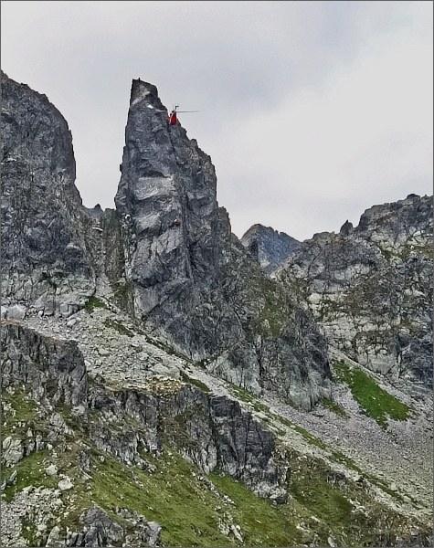 Zadni Mnich / Druhý Mních od severovýchodu