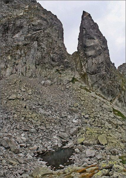 Zadni Mnich / Druhý Mních a Zadni Mnichowy Stawek