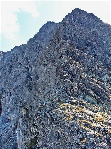 Zadni Mnich / Druhý Mních. Pohled na Čubrinu (Cubryna)