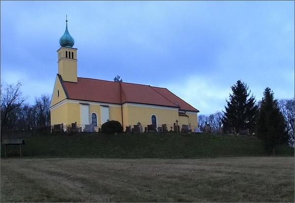 Orlovice, kostel sv. Václava