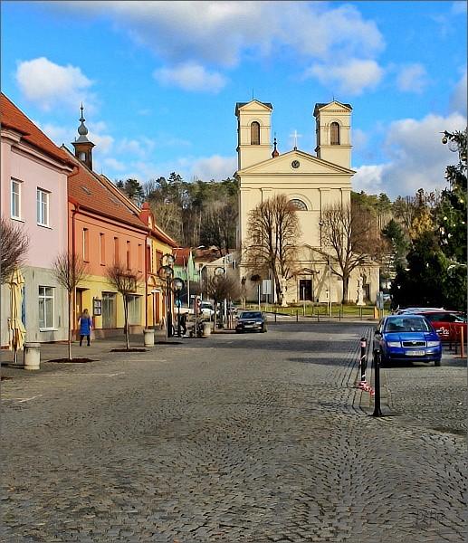 Bučovice, kostel Nanebevzetí Panny Marie
