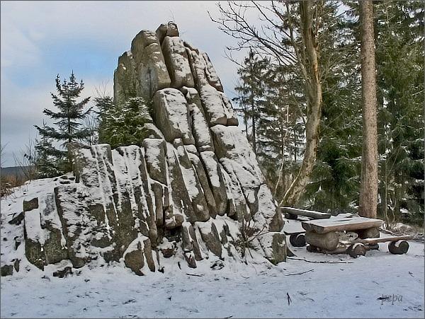 Skaliska na Tisovském vrchu