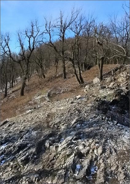 Hřeben na Havraniu skalu