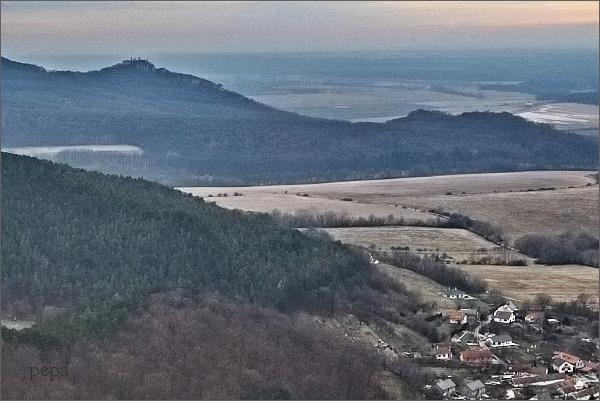 Plavecký hrad z Kršlenice