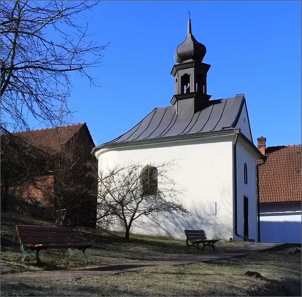 Dolní Rudná. Kaple sv. Jana a Pavla