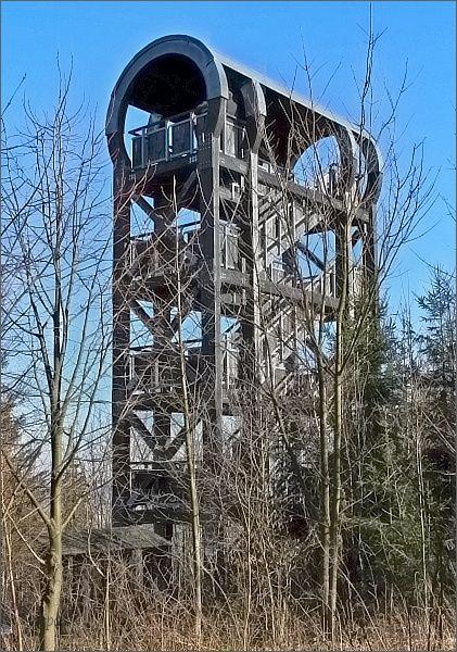 Rozhledna na Strážném vrchu má připomínat výztuž hornické štoly