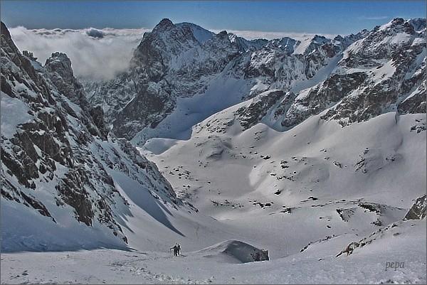 Malá Studená dolina z Baranieho sedla