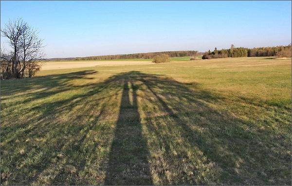 Krajina kolem Drahan je plochá, jakási náhorní plošina