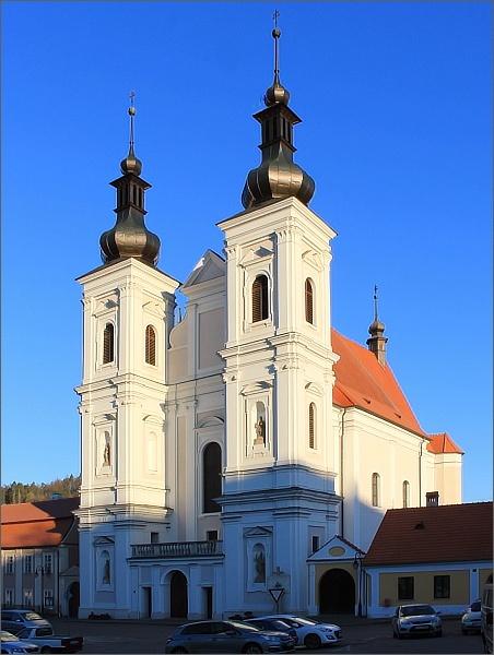 Lomnice, kostel Navštívení Panny Marie