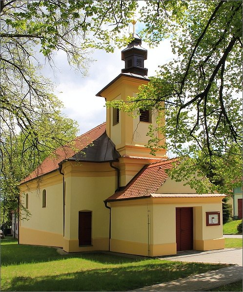 Nemochovice, kostel sv. Floriana