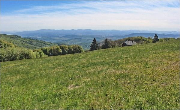 Holubyho chata pod vrcholem Velké Javořiny