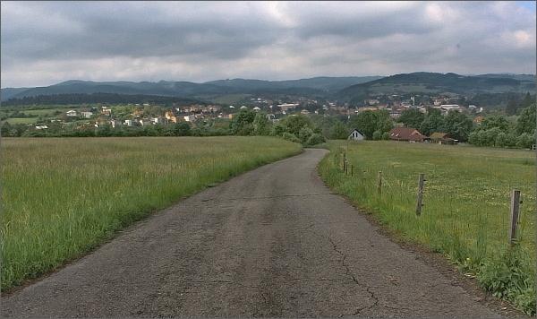 Cestou nad Vizovicemi