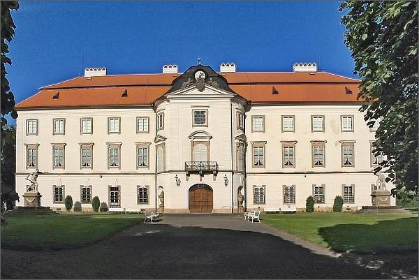 Vizovice, zámek